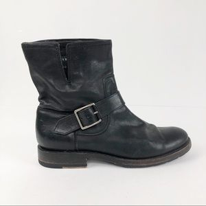 Frye Single Natalie Engineer Short Ankle Boot